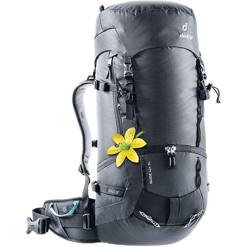 ドイター メンズ バックパック・リュックサック バッグ Deuter Guide 42 SL Pack Black