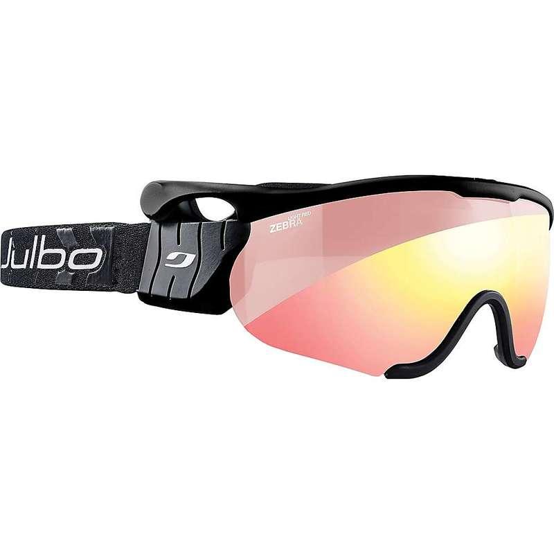 ジュルボ メンズ サングラス・アイウェア アクセサリー Julbo Sniper M Goggles Black/Black/Zebra Light Red/Reactiv Performance
