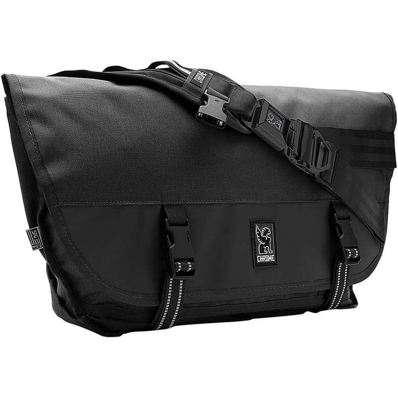 クローム インダストリーズ メンズ ショルダーバッグ バッグ Chrome Industries Citizen Messenger Bag Black / Black / Black