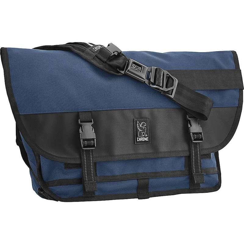 クローム インダストリーズ メンズ ショルダーバッグ バッグ Chrome Industries Citizen Messenger Bag Navy Blue