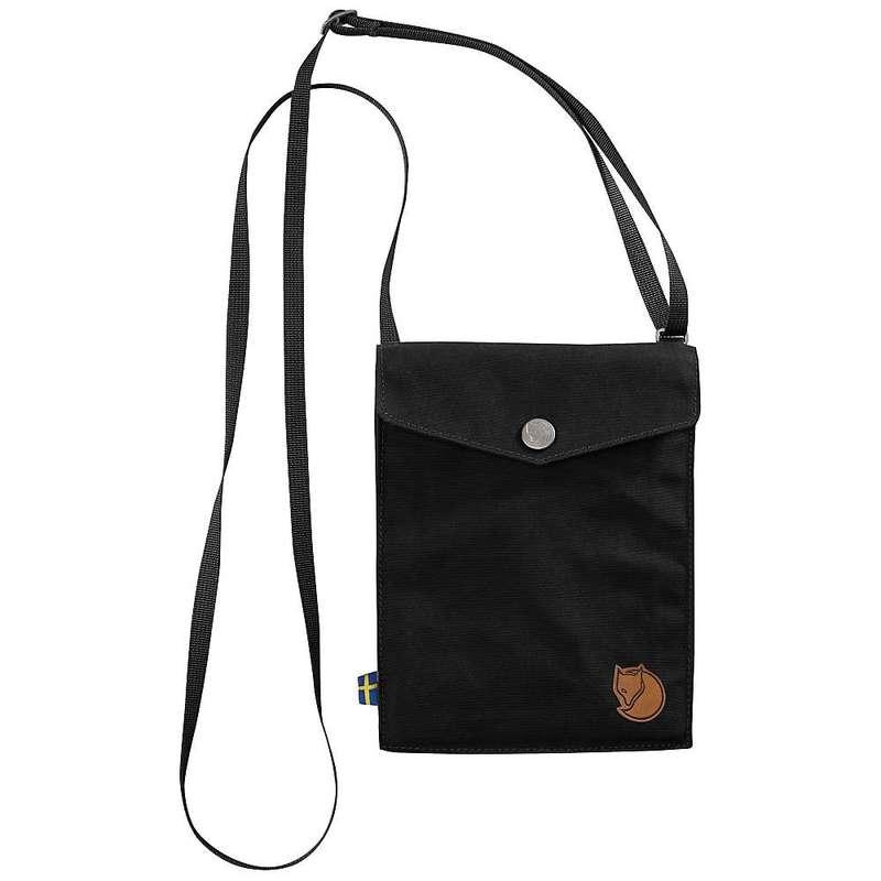 フェールラーベン メンズ ショルダーバッグ バッグ Fjallraven Pocket Pack Black