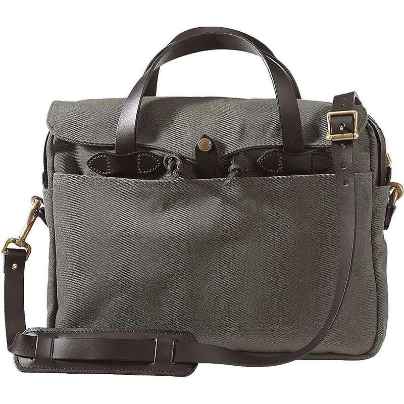 フィルソン メンズ ショルダーバッグ バッグ Filson Original Briefcase Otter Green