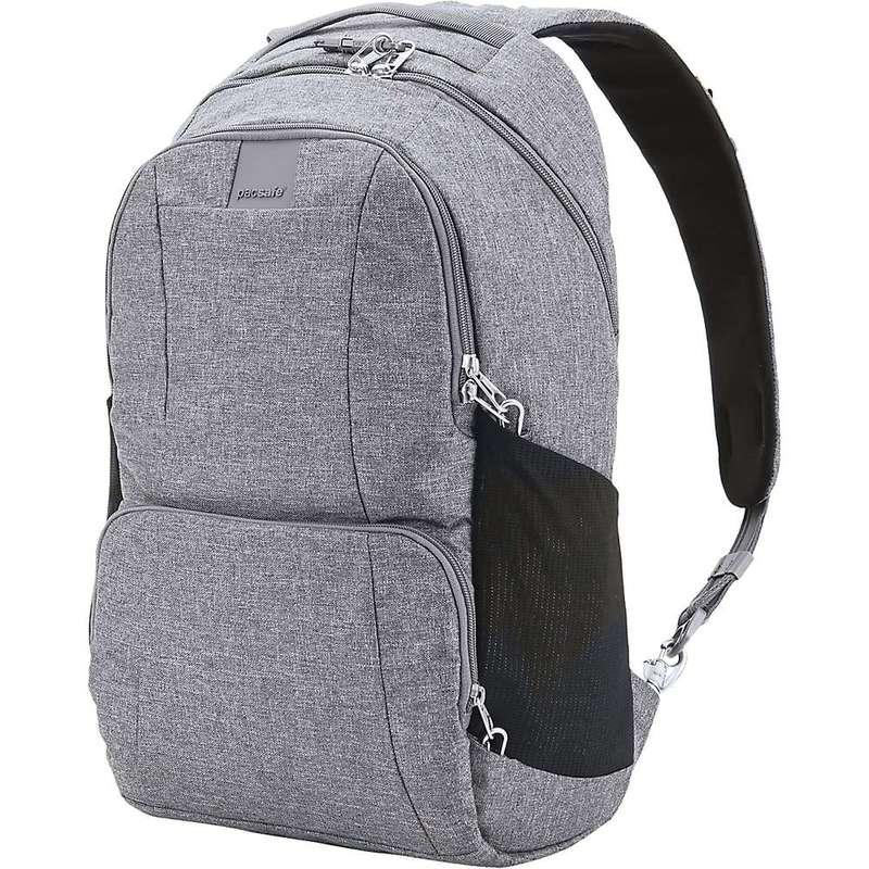 パックセーフ メンズ バックパック・リュックサック バッグ Pacsafe Metrosafe LS450 Anti-Theft 25L Backpack Dark Tweed