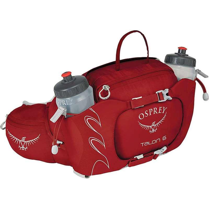 オスプレー メンズ ボディバッグ・ウエストポーチ バッグ Osprey Men's Talon 6 Lumbar Pack Martian Red