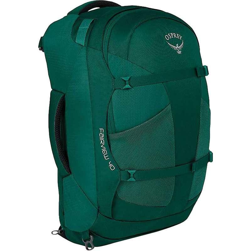 オスプレー レディース バックパック・リュックサック バッグ Osprey Women's Fairview 40 Travel Pack Rainforest Green