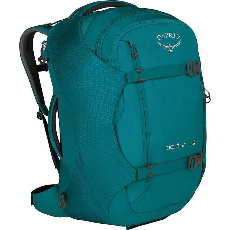 オスプレー メンズ バックパック・リュックサック バッグ Osprey Porter 46 Backpack Mineral Teal