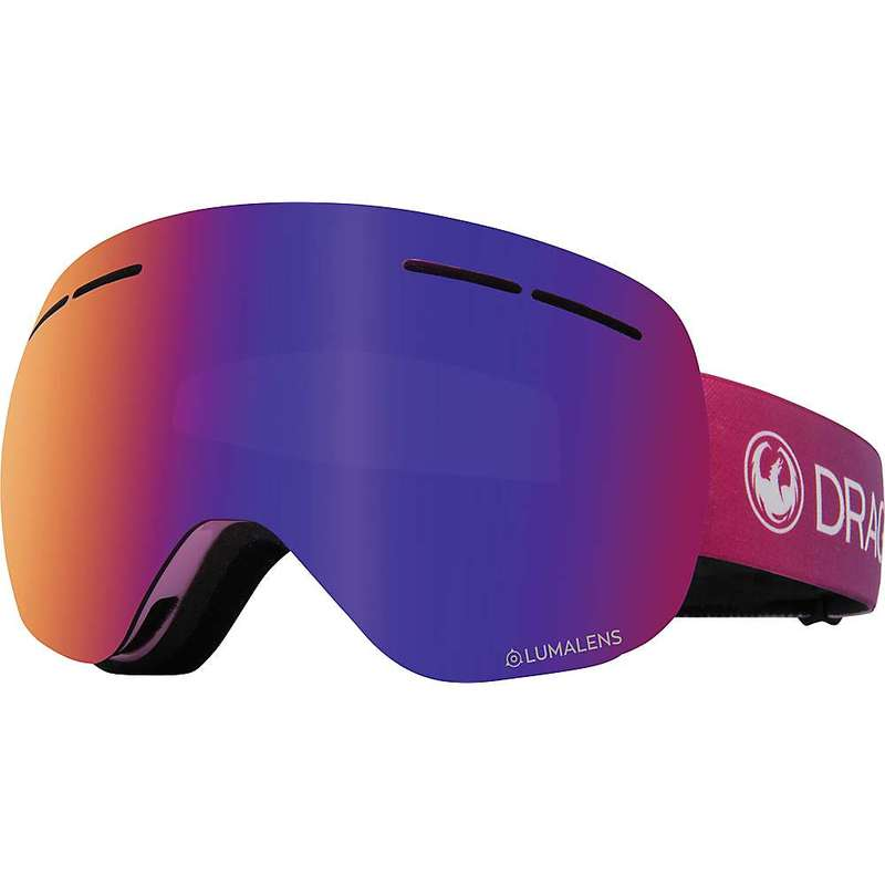 ドラゴン メンズ サングラス・アイウェア アクセサリー Dragon X1s Goggle Candy/Lumalens Purple Ion