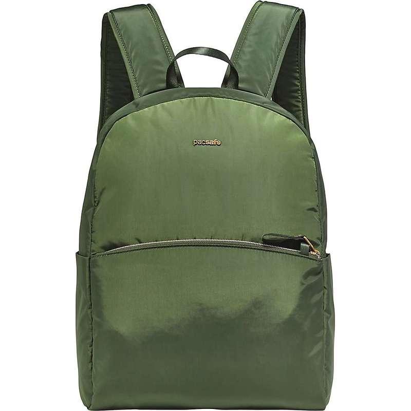 パックセーフ レディース バックパック・リュックサック バッグ Pacsafe Women's Stylesafe Backpack Kombu Green