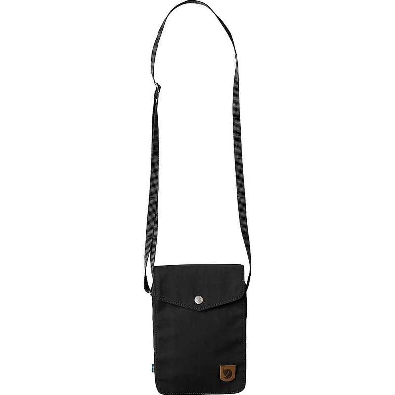 フェールラーベン メンズ ショルダーバッグ バッグ Fjallraven Greenland Pocket Pack Black