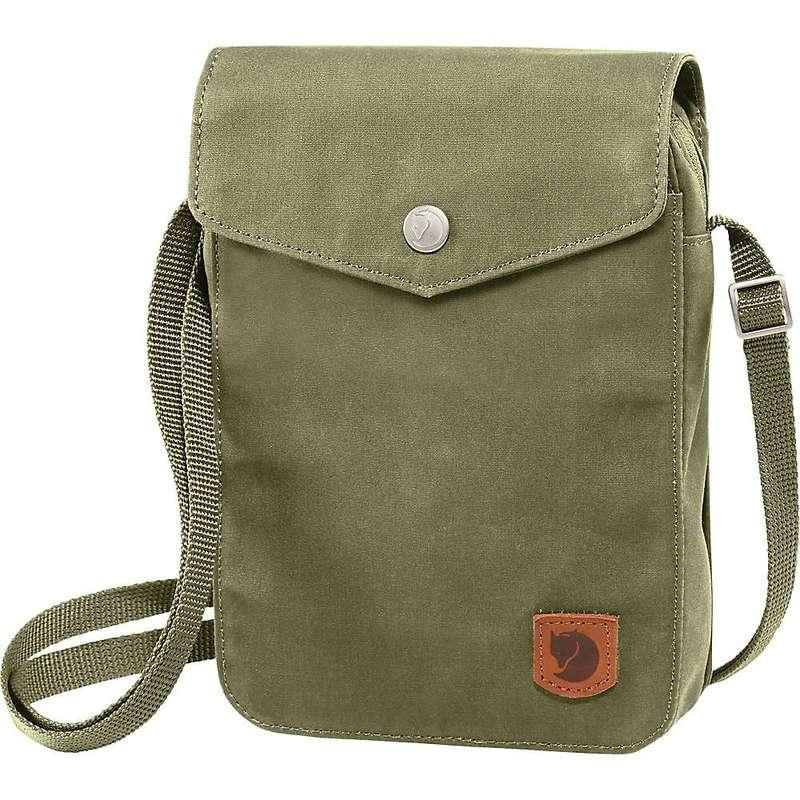 フェールラーベン メンズ ショルダーバッグ バッグ Fjallraven Greenland Pocket Pack Green