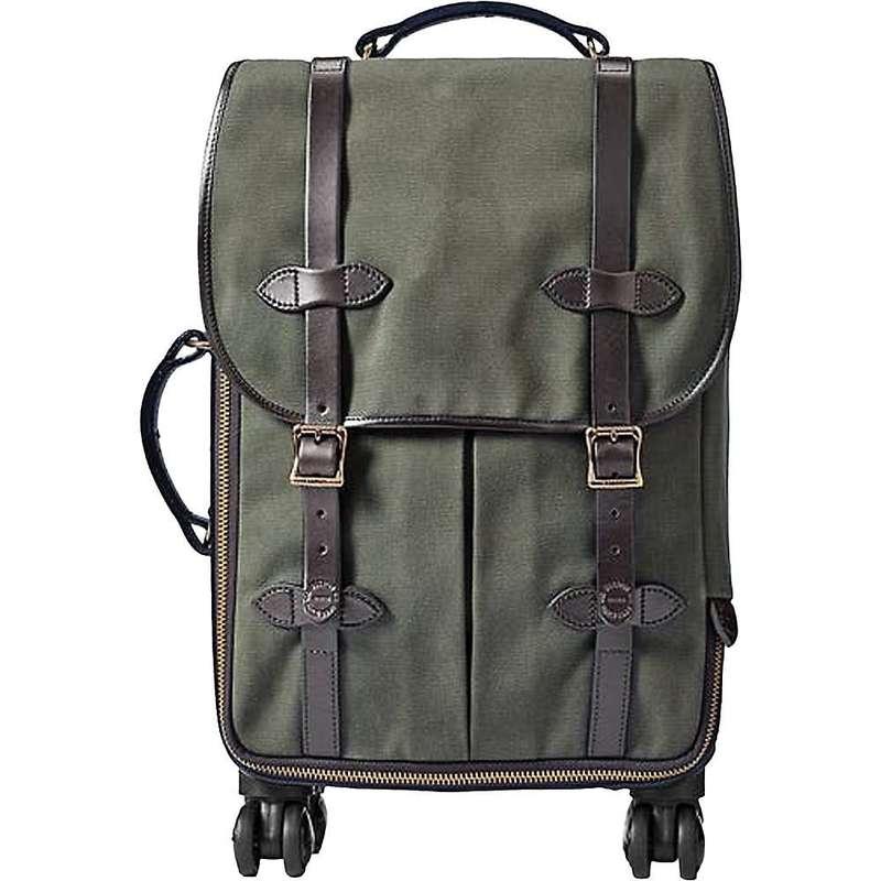 フィルソン メンズ スーツケース バッグ Filson Rolling 4 Wheel Carry On Bag Otter Green