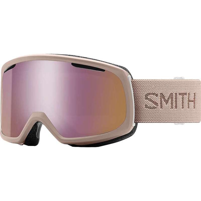 スミス レディース サングラス・アイウェア アクセサリー Smith Women's Riot ChromaPop Snow Goggle Tusk/ChromaPop Everyday Rose Gold Mirror