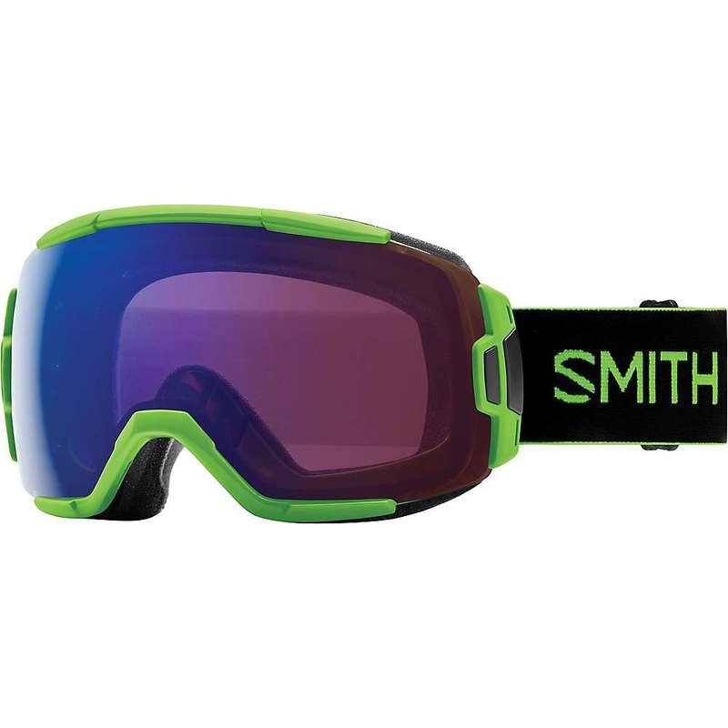 スミス メンズ サングラス・アイウェア アクセサリー Smith Vice ChromaPop Snow Goggle Flash/ChromaPop Everyday Green Mirror