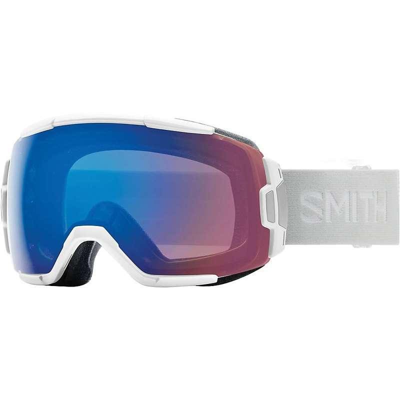 スミス メンズ サングラス・アイウェア アクセサリー Smith Vice ChromaPop Snow Goggle White/CPop Everyday Green Mirror