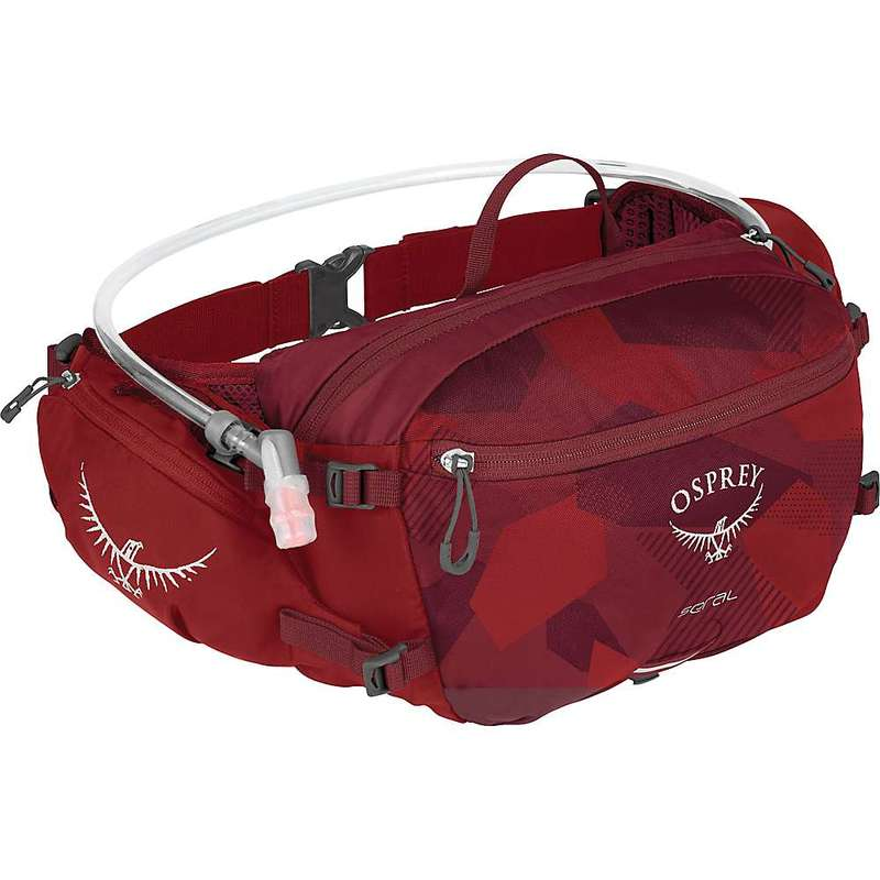 オスプレー メンズ ボディバッグ・ウエストポーチ バッグ Osprey Seral Lumbar Pack Molten Red