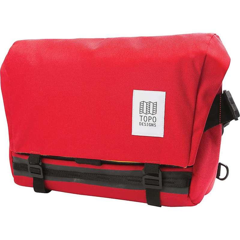 トポ・デザイン メンズ ショルダーバッグ バッグ Topo Designs Messenger Bag Red
