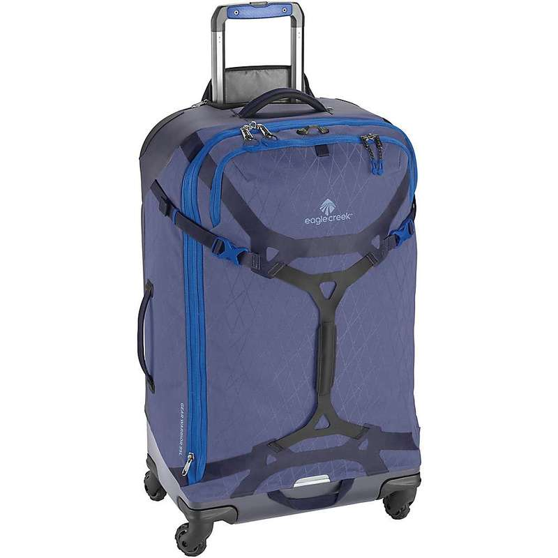 イーグルクリーク メンズ スーツケース バッグ Eagle Creek Gear Warrior 4-Wheel 90L Travel Pack Arctic Blue