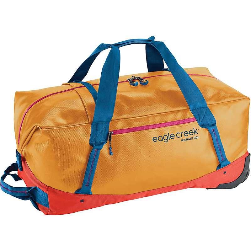 イーグルクリーク メンズ スーツケース バッグ Eagle Creek Migrate Wheeled 110L Duffel Bag Sahara Yellow