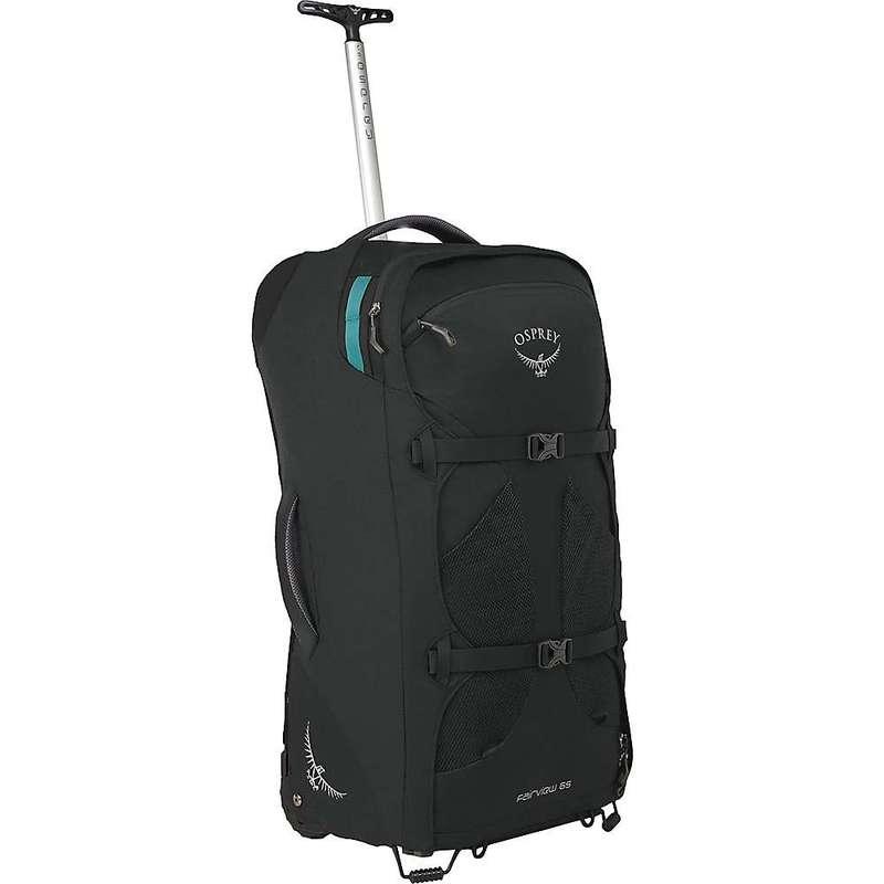 オスプレー メンズ バックパック・リュックサック バッグ Osprey Fairview Wheeled Travel Pack 65 Black