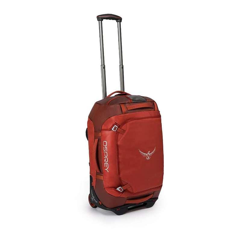 オスプレー メンズ スーツケース バッグ Osprey Rolling Transporter 40 Travel Pack Ruffian Red