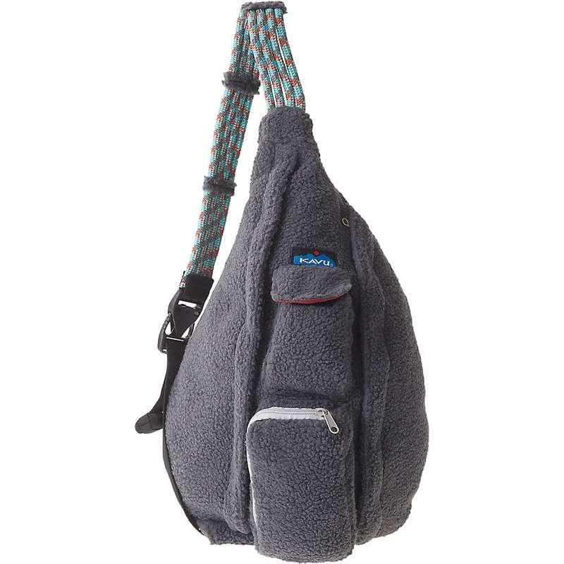 カブー メンズ ボディバッグ・ウエストポーチ バッグ Kavu Women's Rope Fleece Sling Bag Charcoal