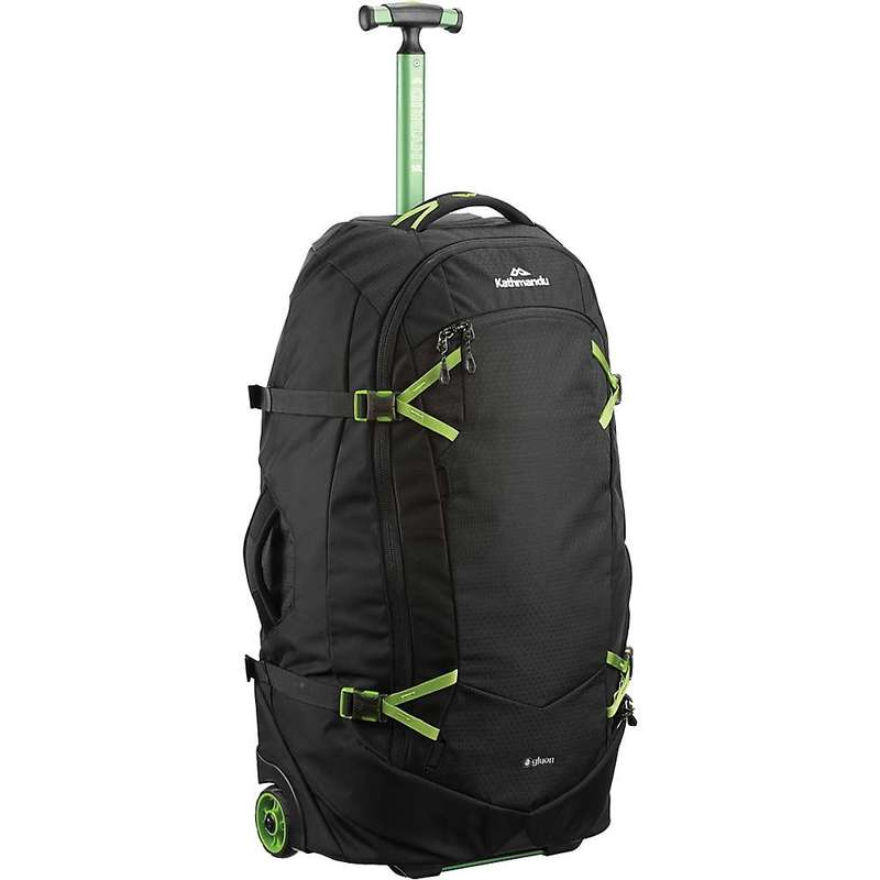 カトマンズ メンズ スーツケース バッグ Kathmandu Hybrid Trolley v4- 50L Black