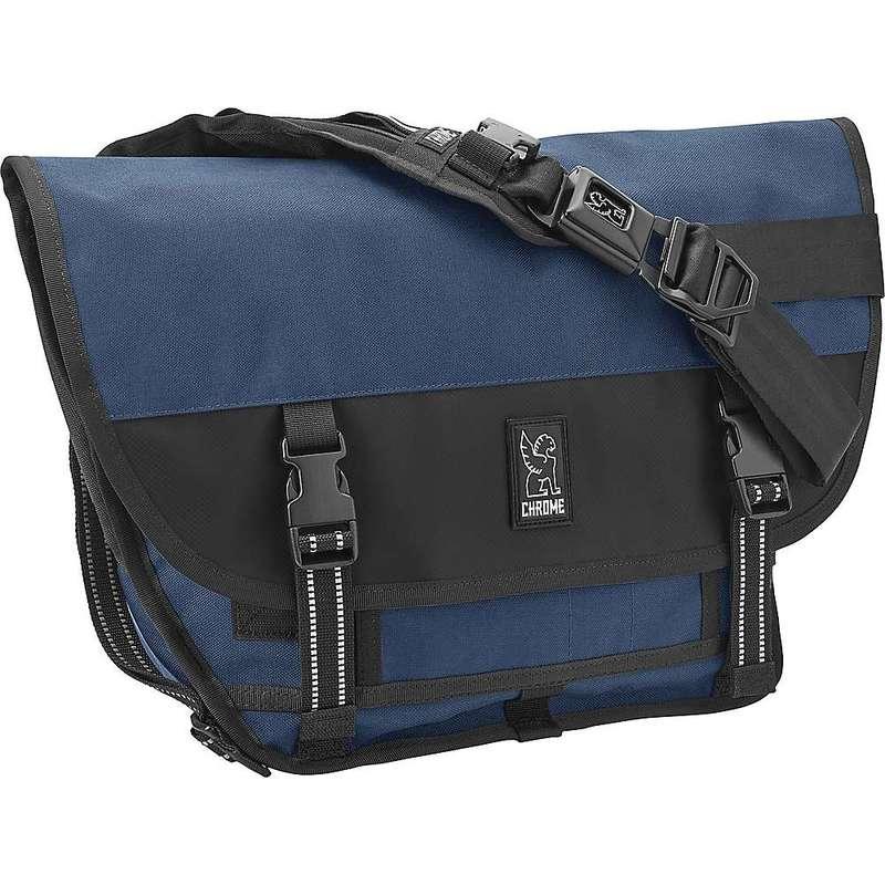 クローム インダストリーズ メンズ ショルダーバッグ バッグ Chrome Industries Mini Metro Messenger Bag Navy Blue