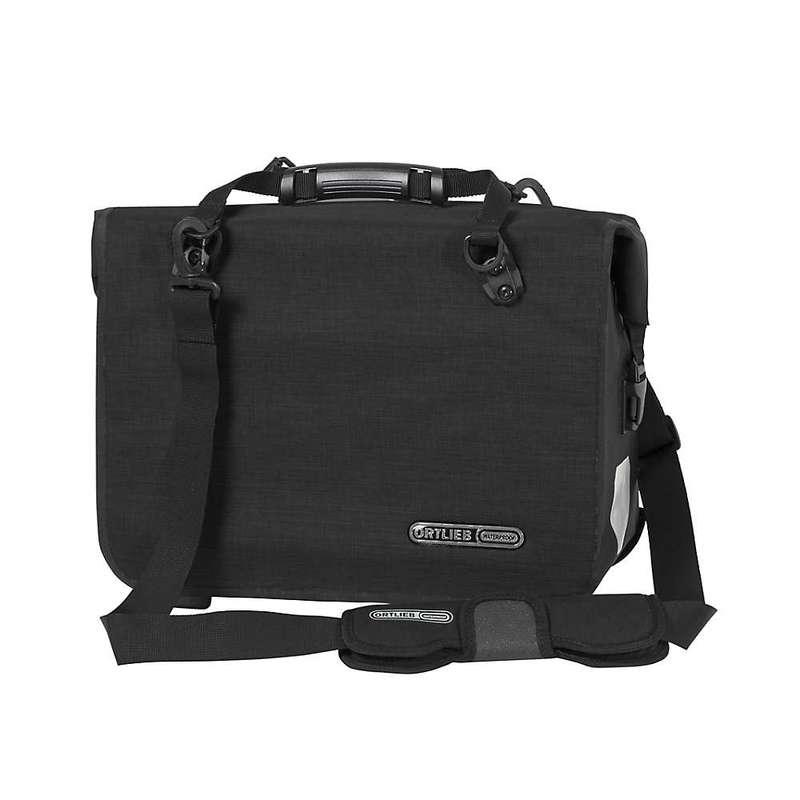 オートリービー メンズ ショルダーバッグ バッグ Ortlieb Office QL3.1 Messenger Bag Matte Black