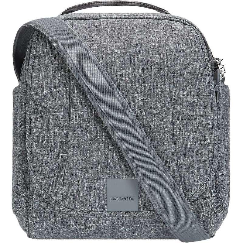 パックセーフ メンズ ショルダーバッグ バッグ Pacsafe Metrosafe LS200 Anti-Theft Shoulder Bag Dark Tweed