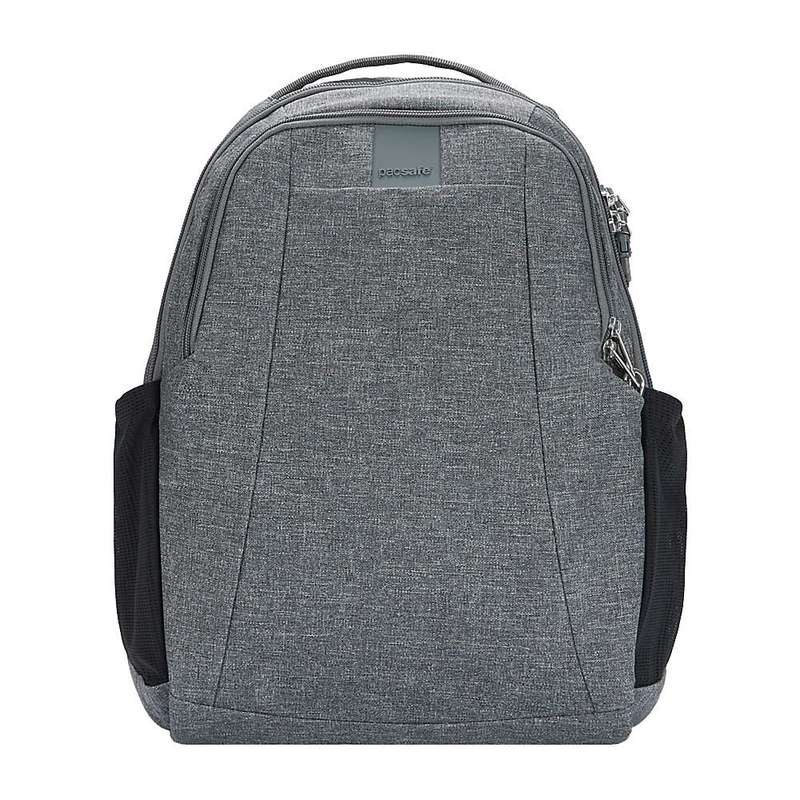 パックセーフ メンズ バックパック・リュックサック バッグ Pacsafe Metrosafe LS350 Anti-Theft 15L Backpack Dark Tweed