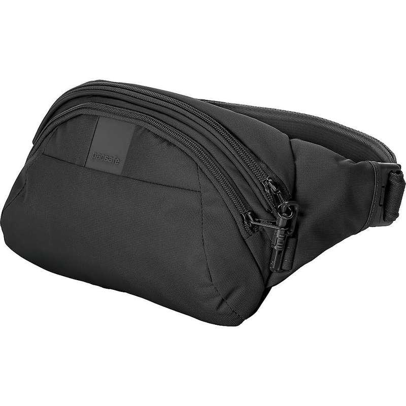 パックセーフ メンズ ボディバッグ・ウエストポーチ バッグ Pacsafe Metrosafe LS120 Anti-Theft Hip Pack Black
