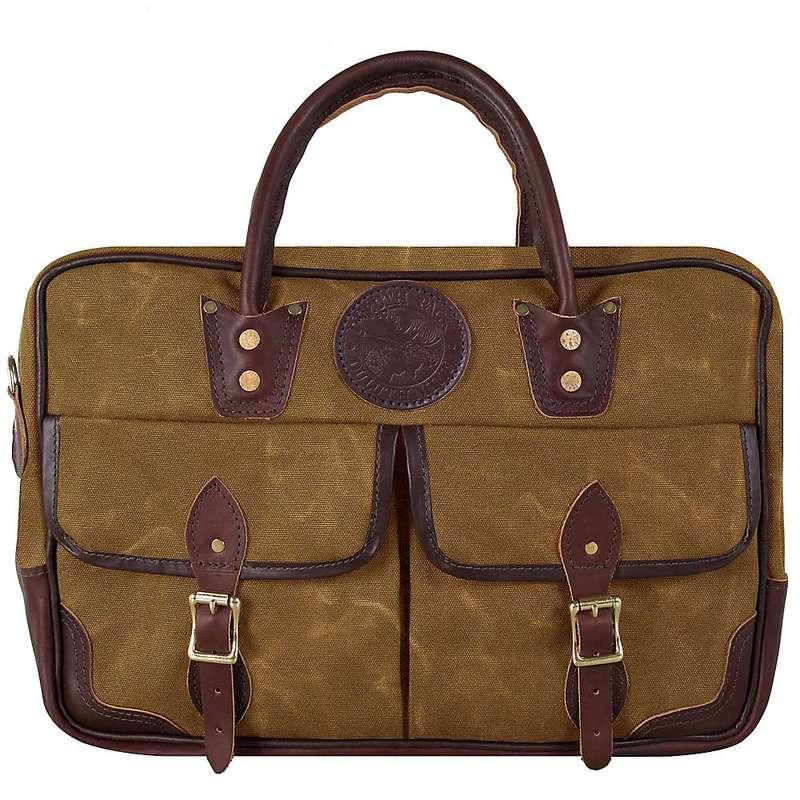 ダルースパック メンズ ショルダーバッグ バッグ Duluth Pack Freelance Portfolio Bag Wax Khaki