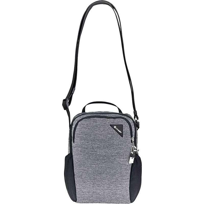 パックセーフ メンズ ショルダーバッグ バッグ Pacasfe Vibe 200 Anti-Theft Compact Travel Bag Granite Melange