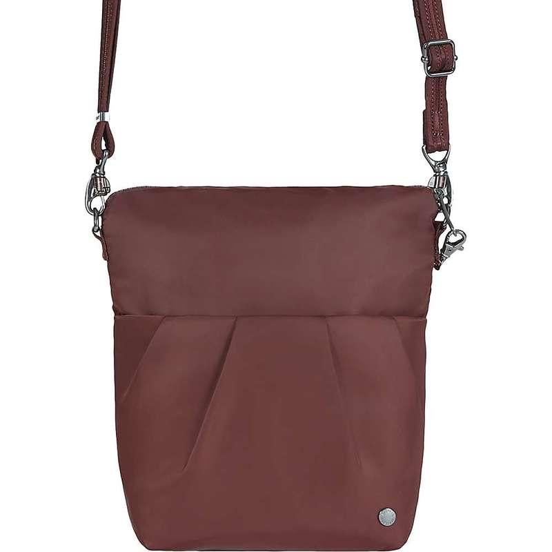 パックセーフ レディース ショルダーバッグ バッグ Pacsafe Women's Citysafe CX Convertible Crossbody Bag Merlot