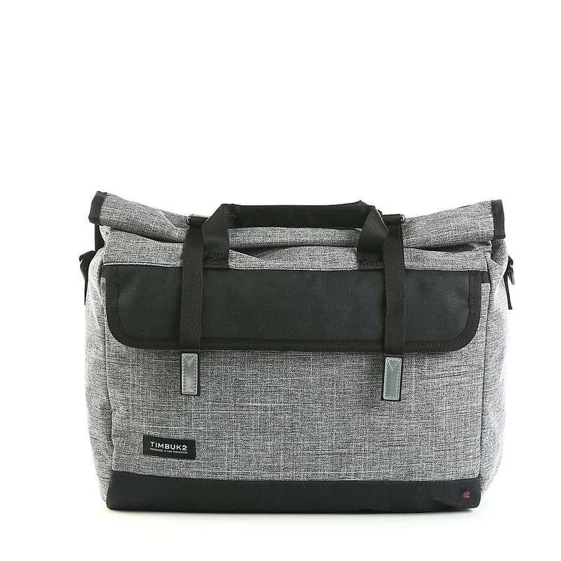 ティムブックツー メンズ ショルダーバッグ バッグ Timbuk2 Prospect Messenger Bag Texture Grey / Black Waxed Canvas