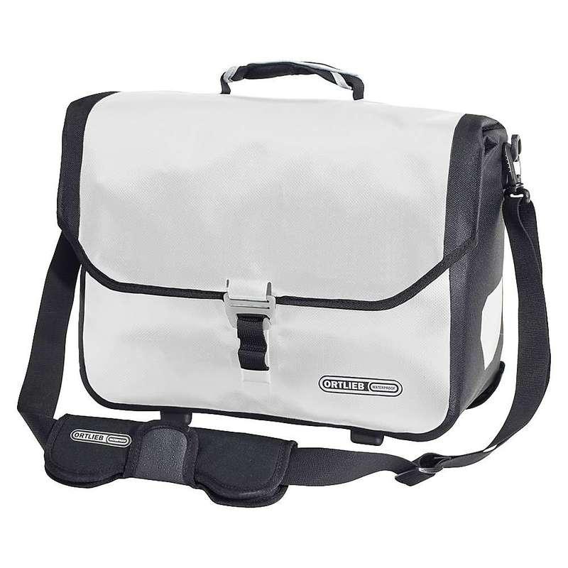 オートリービー メンズ ショルダーバッグ バッグ Ortlieb Downtown 2 QL2.1 Commuter Bag White / Black