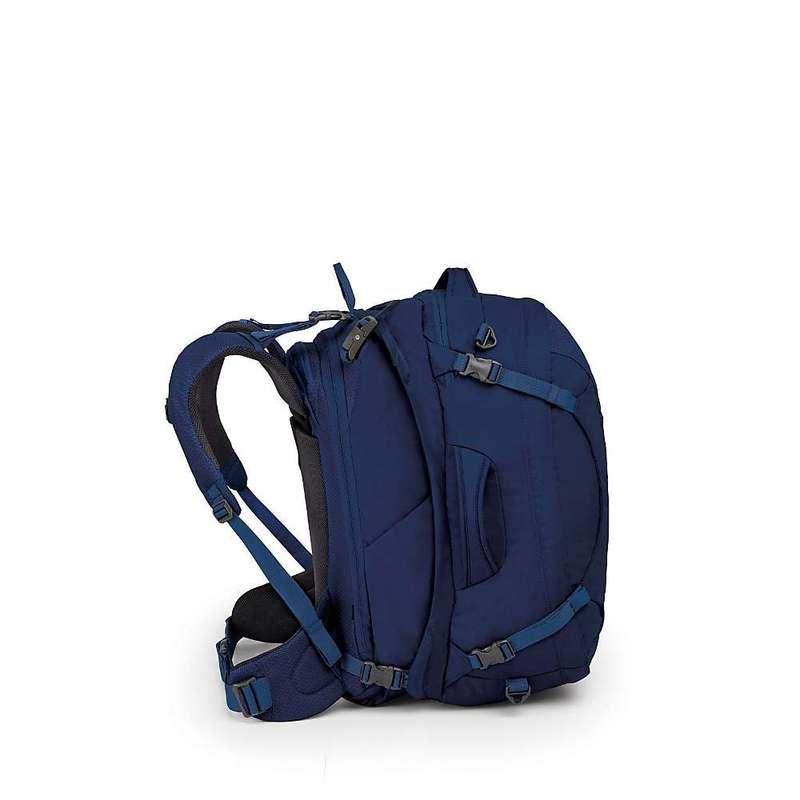 オスプレー レディース バックパック・リュックサック バッグ Osprey Women's The Ozone Duplex 60L Travel Pack Buoyant Blue