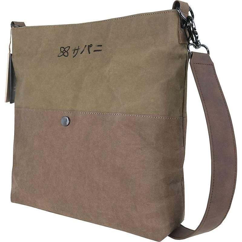 シェルパニ メンズ ショルダーバッグ バッグ Sherpani Women's Aiko Shoulder Bag Olive/Brown