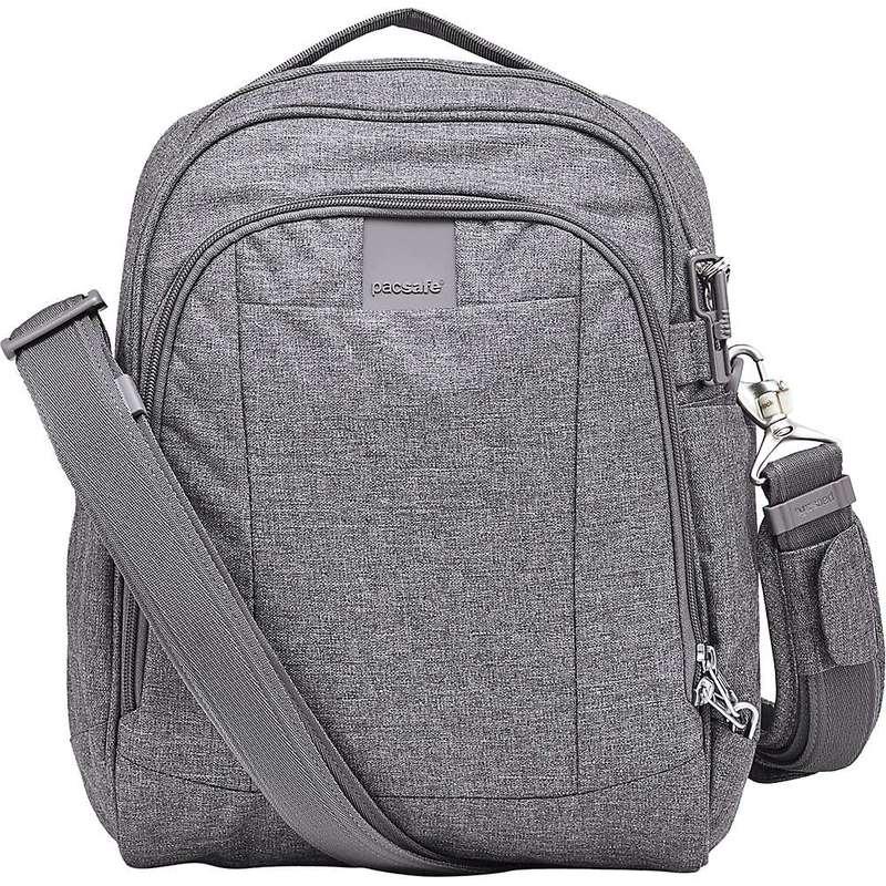 パックセーフ メンズ ショルダーバッグ バッグ Pacsafe Metrosafe LS250 Anti-Theft Shoulder Bag Dark Tweed