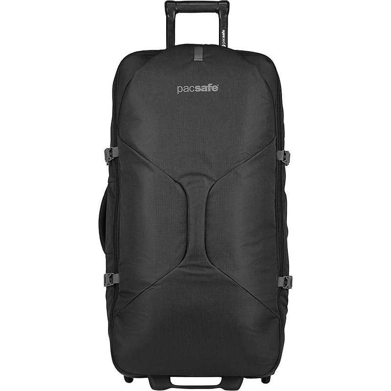 パックセーフ メンズ スーツケース バッグ Pacsafe Venturesafe EXP34 Whelled Carry-On Black