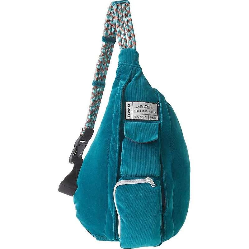 カブー メンズ ボディバッグ・ウエストポーチ バッグ KAVU Women's Rope Cord Sling Bag Arctic Teal