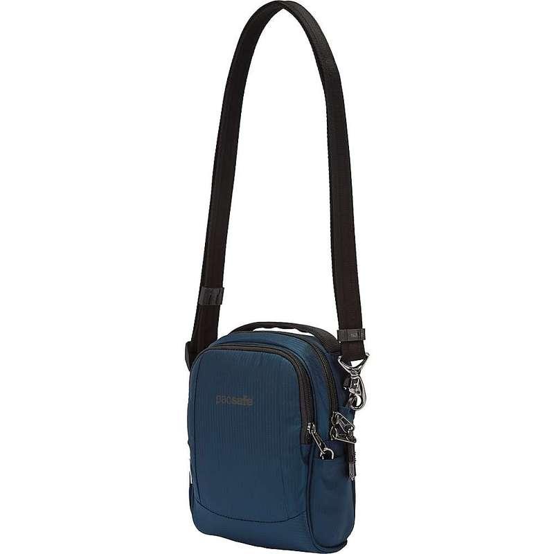 パックセーフ メンズ ショルダーバッグ バッグ Pacsafe Metrosafe LS100 Econyl Anti-Theft Crossbody Bag Econyl Ocean