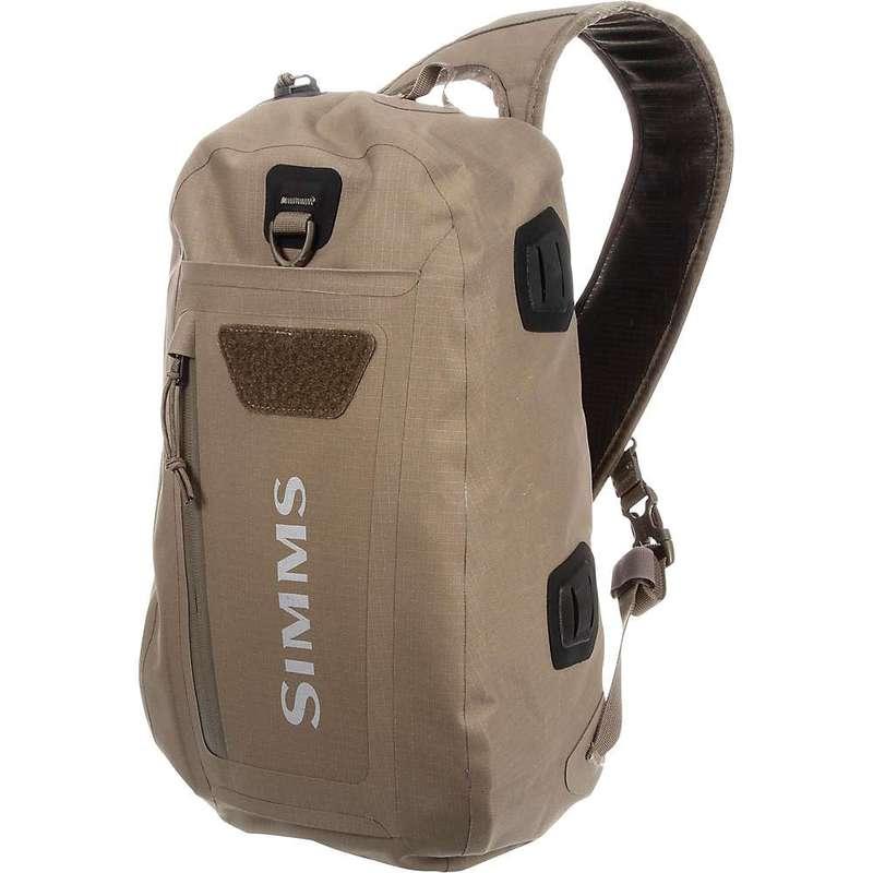 シムズ メンズ ボディバッグ・ウエストポーチ バッグ Simms Dry Creek Z Sling Pack Tan