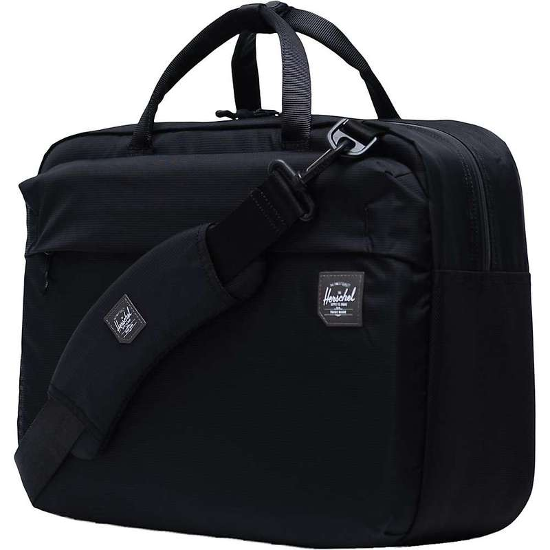 ハーシャル メンズ ショルダーバッグ バッグ Herschel Supply Co Britannia Messenger Black