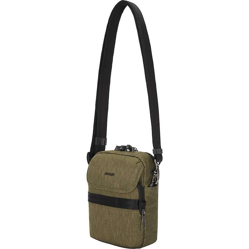 パックセーフ メンズ ショルダーバッグ バッグ Pacsafe Metrosafe X Anti-Theft Compact Crossbody Bag Utility
