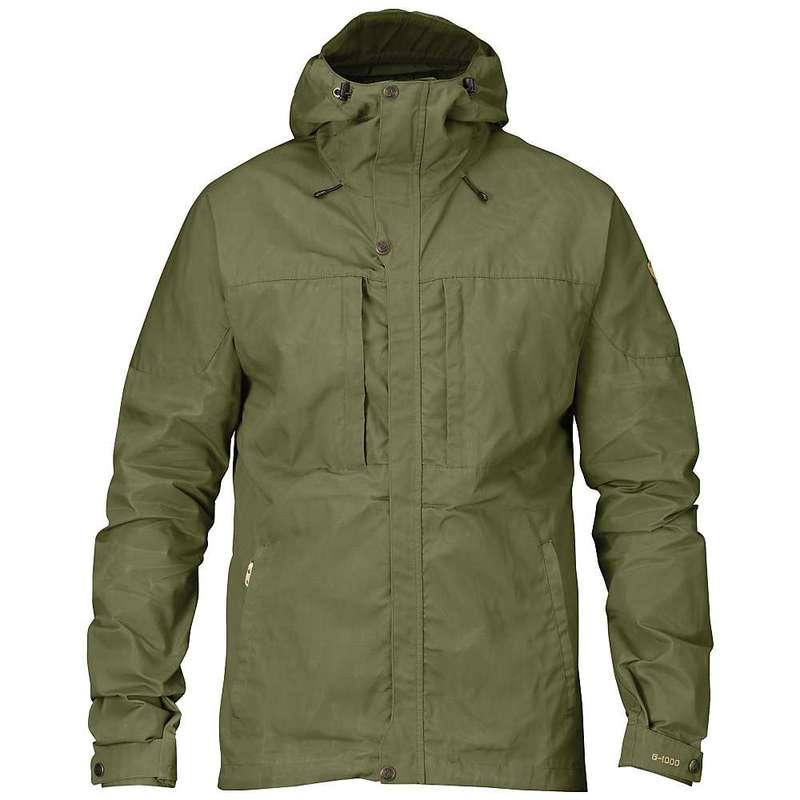 フェールラーベン メンズ ジャケット・ブルゾン アウター Fjallraven Men's Skogso Jacket Green
