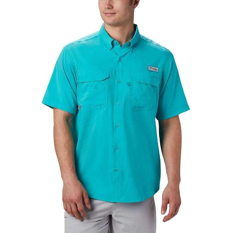 コロンビア メンズ シャツ トップス Columbia Men's Blood And Guts III SS Woven Shirt Bright Aqua