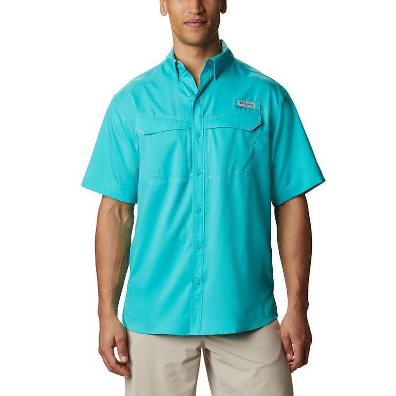 コロンビア メンズ シャツ トップス Columbia Men's Low Drag Offshore SS Shirt Bright Aqua