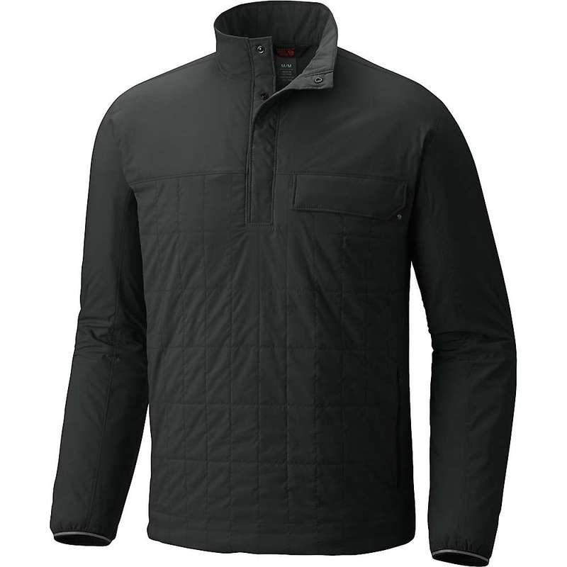 マウンテンハードウェア メンズ ジャケット・ブルゾン アウター Mountain Hardwear Men's Escape Insulated Pullover Stealth Grey