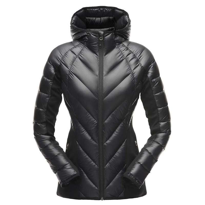 スパイダー レディース ジャケット・ブルゾン アウター Spyder Women's Syrround Hybrid Hoody Jacket Black / Black / Black